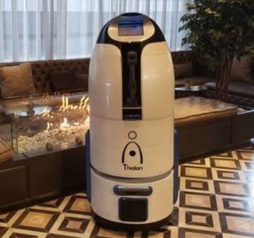 Thalon, el robot asistente para hoteles e industria