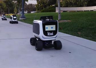 Sabes quién es Kiwibot, el robot mensajero de Kiwi