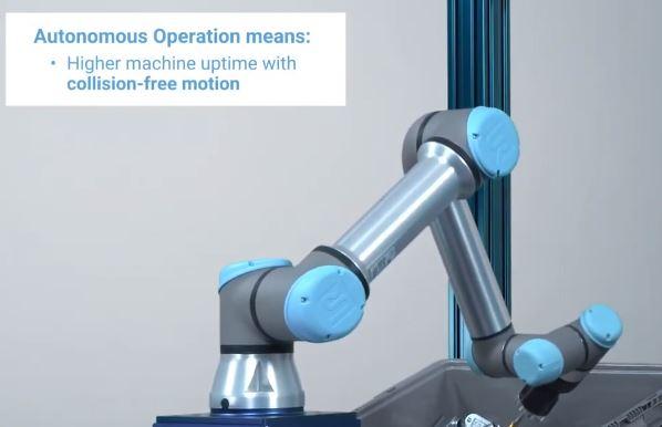 Universal Robot asegura la recuperación de la inversión al comprar el kit ActiNav en 18 meses